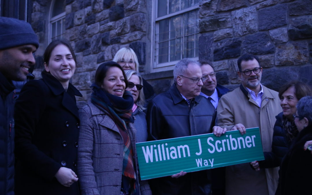 William J. Scribner Street-Naming Ceremony