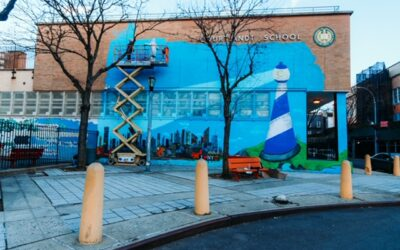 Teaching Artist Mural: The Sky is the Limit