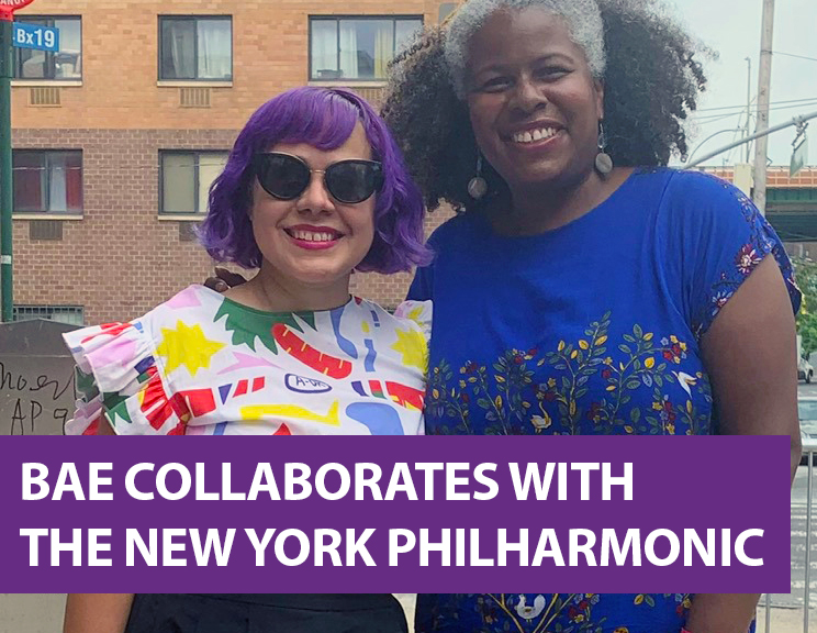 """In Partnership with New York Philharmonic BAE Presents """"Sembrar"""" an Original Work by Angélica Negrón"""