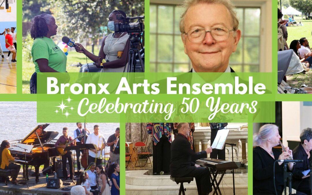 Celebrating 50 Years of Bronx Arts Ensemble